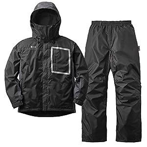 ロゴス(LOGOS) 動作快適防水防寒スーツ ウィル ブラック 3L 30341710 ブラック 3L