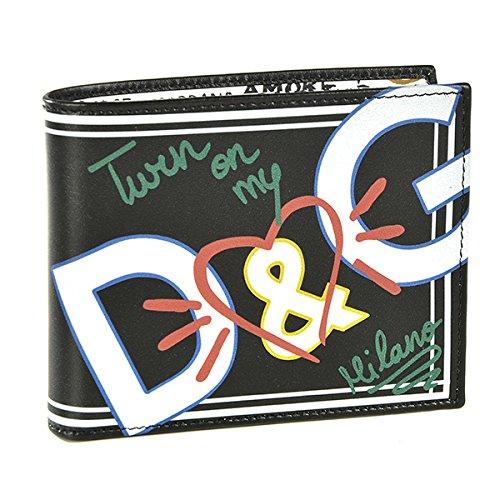 Dolce&Gabbana(ドルチェ&ガッバーナ) 財布 メンズ VITELLO 2つ折り財布 ブラック BP0457-AN368-HNI08 [並行輸入品]
