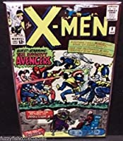 X - Men # 9ヴィンテージComic Cover 2x 3冷蔵庫ロッカーマグネット