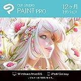 CLIP STUDIO PAINT PRO 12ヶ月 1デバイス   Windows/macOS/iPad/Galaxy対応 オンラインコード版