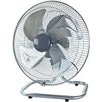 TEKNOS 45cmアルミ羽根 工業扇風機 シルバー KG-464