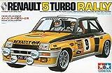 タミヤ1/ 24スポーツカーシリーズNo。27ルノー5( Thunk )ターボラリー仕様電動式