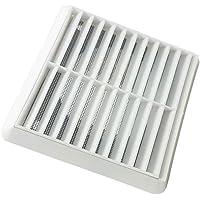 TOYMYTOY 換気グリル 通気カバー 換気扇 1PC エアベント換気グリルカバー 壁天井 (ホワイト、100mm)