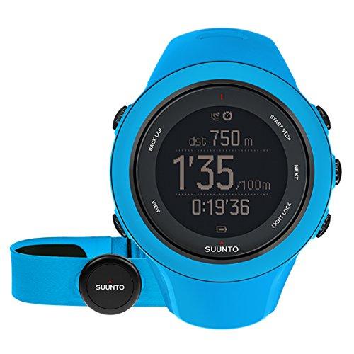 SUUNTO AMBIT SPORT HR SAPPHIRE (スント スパルタン スポーツ HR サファイア「) トライアスロンウォッチ GPS 防水 心拍計 [日本正規品] SS020679000 ブルー