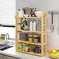 FANGFA キッチン棚マルチレイヤー電子レンジ収納ラック多機能スパイスラック(6サイズはオプション) (サイズ さいず : L*W*H: 53*25*82cm)