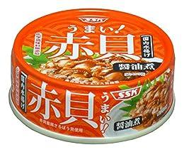 SSK うまい!赤貝醤油煮 65g