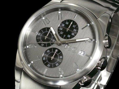 D&G ドルチェ&ガッバーナ 腕時計 クロノグラフ サンドパイ...