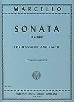 MARCELLO - Sonata en Sol Mayor para Fagot y Piano (Sharrow)