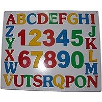 Wooden puzzle board -(Alpha numeric)