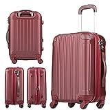 【レジェンドウォーカー】LEGEND WALKER スーツケース 容量拡張 TSAロック 超軽量 マット加工 ファスナー開閉 5082