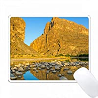 サンタエレナキャニオンのリオグランデ川 PC Mouse Pad パソコン マウスパッド