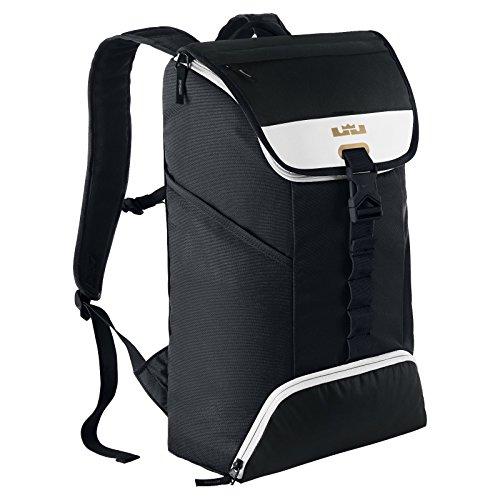 (ナイキ) バックパック リュック ブラック Nike LeBron Max Air Ambassador Backpack BA5111-013 [並行輸入品]