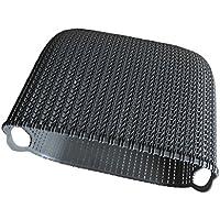 fityle Decorative WovenウィッカープラスチックストレージバスケットBinボックスオーガナイザーコンテナ S ブラック 34b25cb9befaf2c7e3ab99363990fb2e