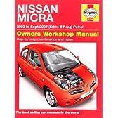 Nissan Micra Petrol (02 - 07) 52 - 57