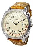 [ジーエムティー24]GMT24 クオーツ メンズ 24時間計 腕時計 GMT24-BR