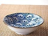 純和風な取り分け小鉢 青海波4.0鉢