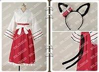 高品質コスプレ衣装 猫神やおよろず 正倉院笹鳴 着物◆ コスチューム、コスプレ