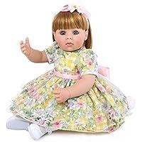 かわいい、布、柔らかい、シリコーン、人形、シミュレーション、赤ちゃん、子供、寝る、遊ぶ、おもちゃ、生まれ変わる赤ちゃん22インチ完全に生きている子供おもちゃの子供の誕生日プレゼント
