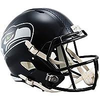 Riddell Speed Replica フットボール ヘルメット - NFL シアトル?シーホークス (Seattle Seahawks)