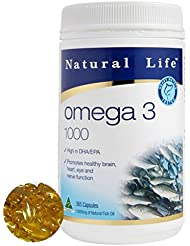 DHA EPA オメガ3系脂肪酸1000mg×365粒/半年分。ダントツの成分量(オーストラリア政府TGA認定商品)[海外直送品]