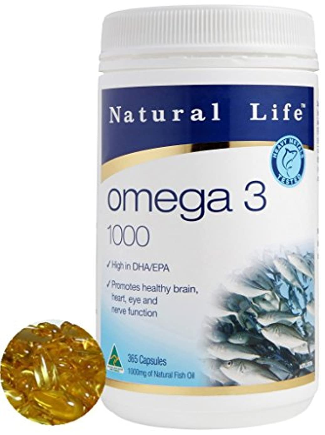 タール小川しかしDHA EPA オメガ3系脂肪酸1000mg×365粒/半年分。ダントツの成分量(オーストラリア政府TGA認定商品)[海外直送品]