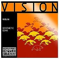 CUERDA VIOLIN - Thomastik (Vision/VI04) (Alma Sintetica Entorchado/Plata) 4ェ Medium Violin 1/4