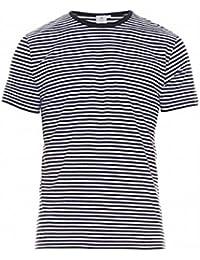 (サンスペル) Sunspel メンズ トップス Tシャツ Striped cotton T-shirt 並行輸入品