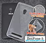 PLATA SIMフリー ASUS エイスース ZenFone ゼンフォン 5 用 ドット クリア ソフト ケース tpu カバー SIM シム フリー ZenFone5 ゼンフォン5 【 ドットクリア 】