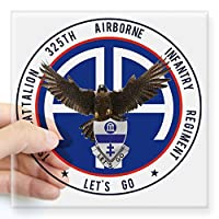 "CafePress – Falcon v1 – 1st-325th Squareステッカー3 "" x 3 – Squareバンパーステッカー車デカール、3 "" x3 "" ( Small )または5 "" x5 "" ( Large ) Large - 5x5 1065184689619CE"