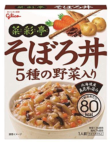 江崎グリコ 菜彩亭 そぼろ丼 140g×10個