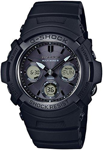 送料無料 Gショック 電波ソーラー 腕時計 メンズ AWG-M100SBB-1AJF