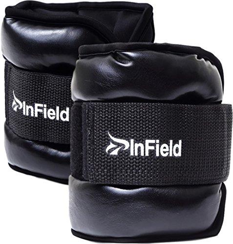 (InField) アンクルウェイト リスト ウォーキング ダイエット エクササイズ 体幹トレーニング リストウェイト アンクルウェイト パワーアンクル リストバンド 筋トレ 3kg