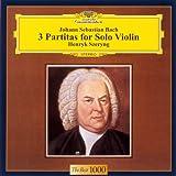 バッハ:無伴奏ヴァイオリンのためのパルティータ全曲 画像