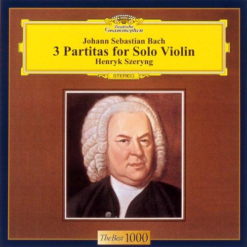 バッハ:無伴奏ヴァイオリンのためのパルティータ全曲