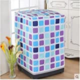 キューブ防水日焼け止め洗濯機のドラム式洗濯機カバー防水保護カバー58*63*85cm