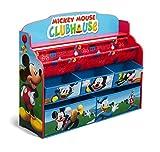 ディズニー ミッキーマウス デラックス 本棚&おもちゃ箱 【84983】