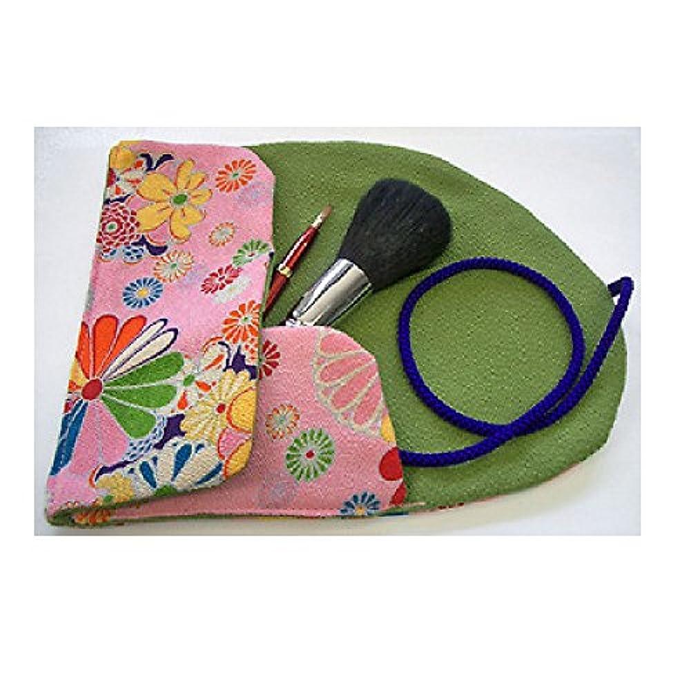 オーバーコートラジカル億熊野筆 Ai brush WA-2A/和風化粧筆セット