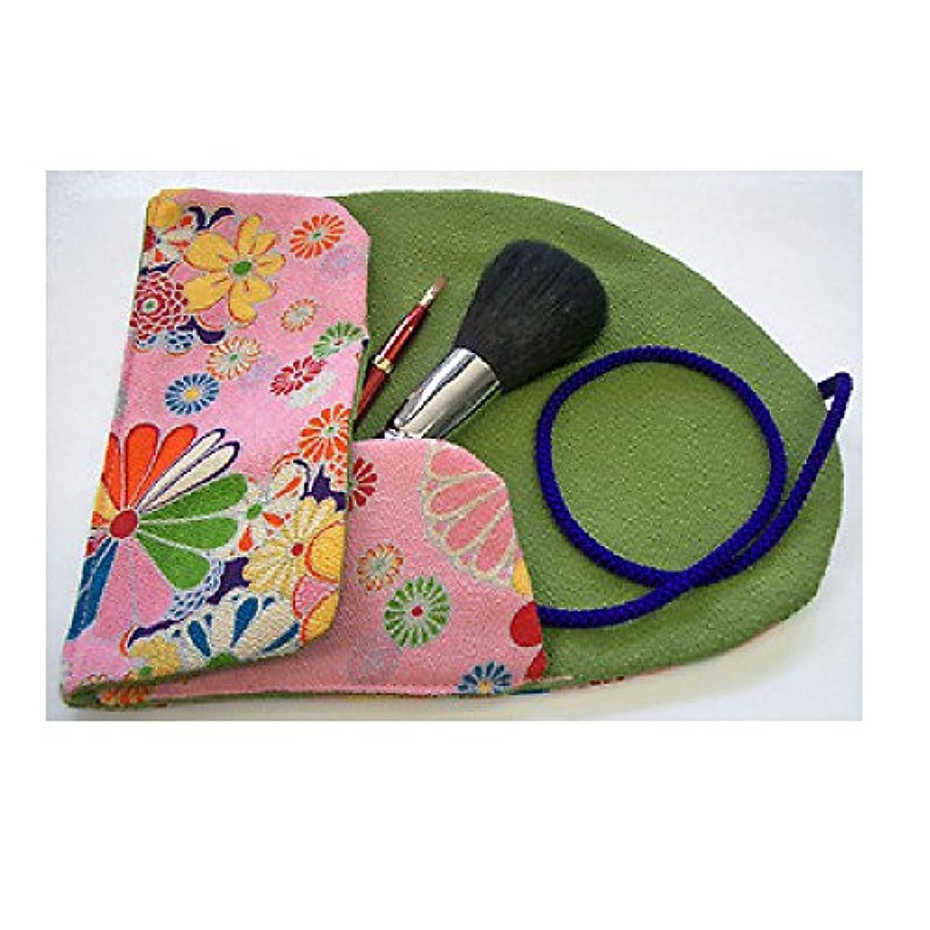 座る鰐イデオロギー熊野筆 Ai brush WA-2A/和風化粧筆セット