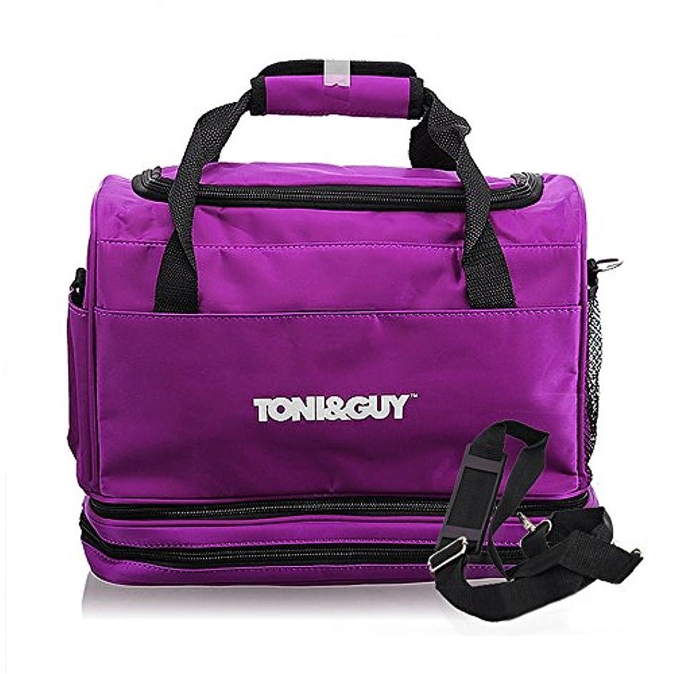 洗練行商人テクスチャー美容師 シザーバッグ Hair Tools Bag Hairdressing Carry Case 脱着 ストラップ Hair Tools Organizer Bag for Hairdressers 【ヘアツール バッグ】並行輸入
