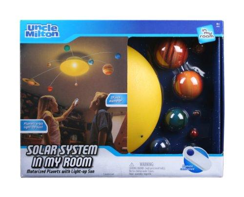 太陽系型ライト 太陽の周りを土星や木星、金星がまわります 並行輸入