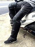 (nakira) 装着簡単! レッグウォーマー バイクでの足の寒さ防止! チャップス (L 幅広)