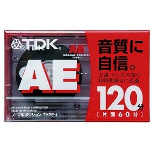 TDK オーディオテープ AE 120分 AE-120G