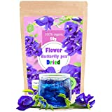 Premium Butterfly Pea Tea Super Dried Flowers 50g Origin in Thailand