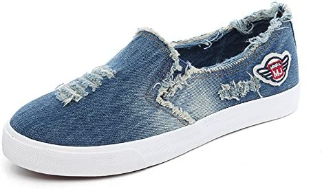 À la mode denim souliers lapsus en en en baskets cdb76a