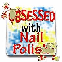 ブロンドDesigns Obsessed with–Obsessed with Nail Polish–10x 10インチパズル( P。_ 241715_ 2)
