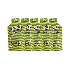 shotzショッツエナジージェル グリーンプラム味 (45g×5個)カフェインプラス【補給食説明書付】