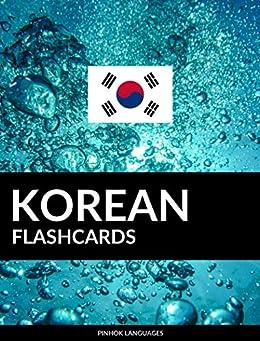 Korean Flashcards: 800 Important Korean-English and English-Korean Flash Cards by [Languages, Pinhok]
