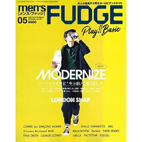 men's FUDGE -メンズ ファッジ- 2018年5月号 Vol.102