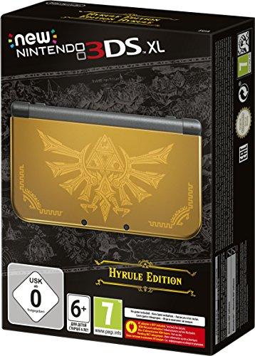 New Nintendo 3DS XL LL 欧州版 本体 ハイラル 限定版 Hyrule Edition (輸入版)