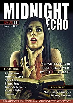 Midnight Echo issue 12 by [Cummings, Shane Jiraiya, Ward, Kyla Lee, Davis, Matthew R., Fung, Rebecca, Dewar, Simon, Butterworth, Lauren, Maher, Angela J., Grenfell, Andrew, Mason, Chris]